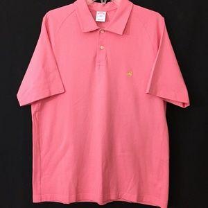 Brooks Brothers Logo polo shirt Men's size L